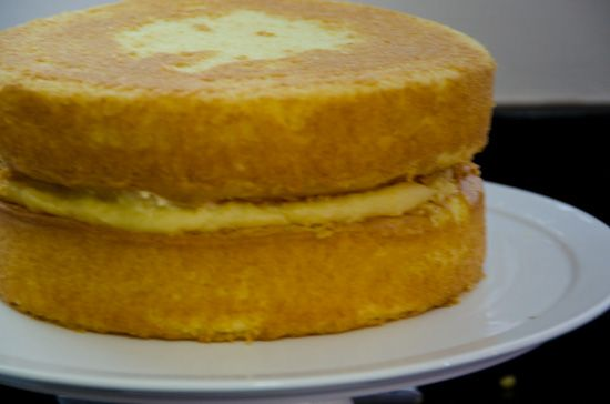 Pastry cream for Dominican cake