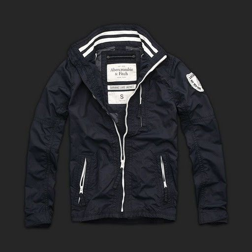 So Cal Clothing >> $154.34 Abercrombie Fitch Mens Saranac Lake Jacket Royalblue | Moda hombre | Pinterest ...