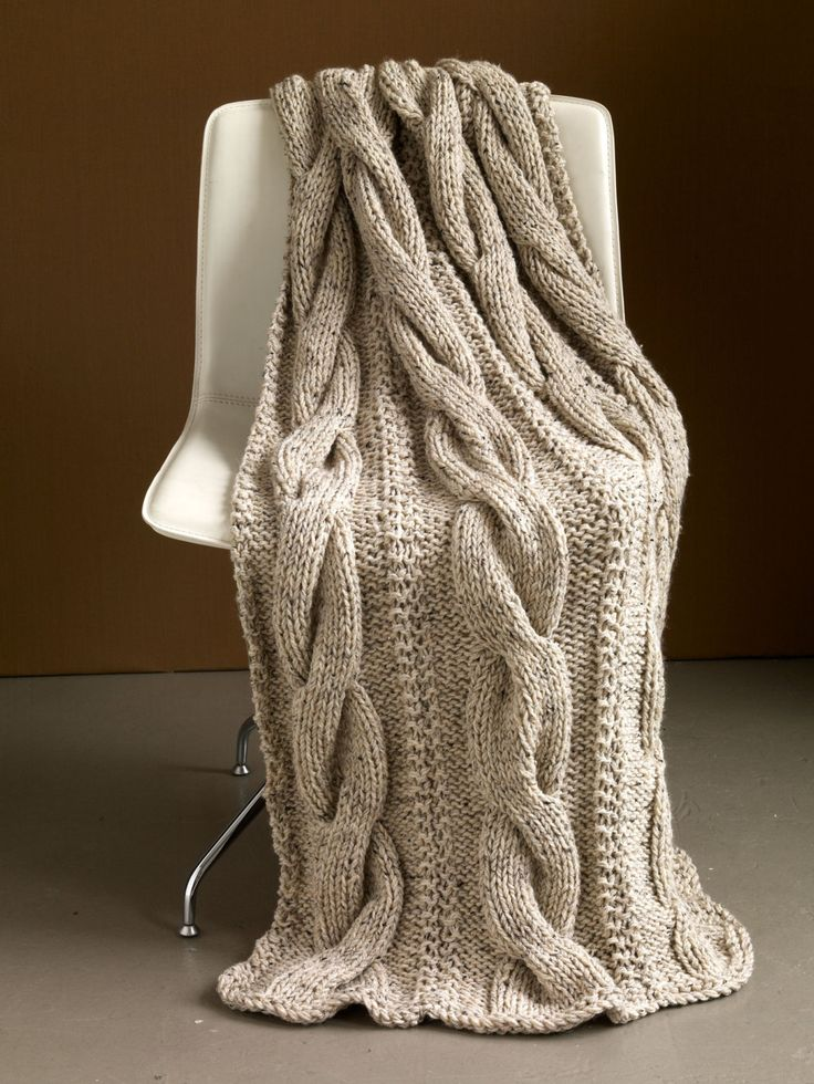 Knitting Pattern Throw Chunky Choice Image Handicraft Ideas Home