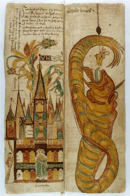 Page from an Icelandic Medieval Manuscript; Photograph: The Reykjavík ...greenteadesign.com