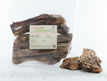 Futterkisterl-Tirol - Kalbs-Haxe, leckeres mageres Fleisch und Knochenmark, gesunde Knabberei für den Hund