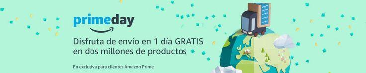 Amazon Prime Day   Os recordamos que a las 18 horas del día de hoy comienza el Prime Day, aunque ya llevamos varios días de ofertones, hoy llegara lo mejor, así que aquí os dejamos unos consejos, aunque el mejor que os podemos dar es que os hagáis Prime ya que es la manera de beneficiarse de muchos de los chollos que hoy se publiquen.   #chollos #compras #amazon #ofertas #primeday