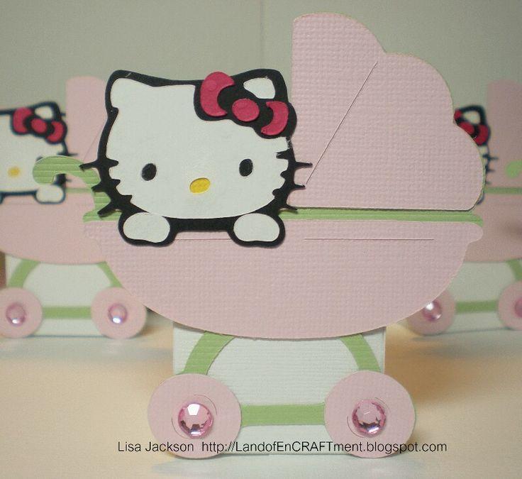 Hello Kitty Baby Shower Invitation