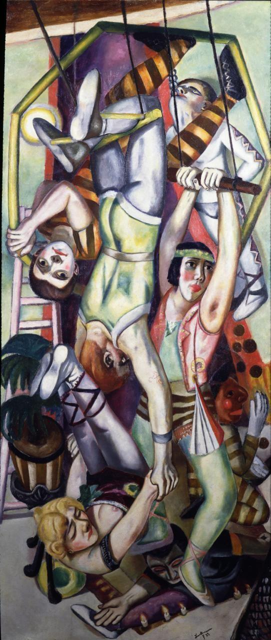 Max Beckmann (1884–1950) Na trapezie  1923