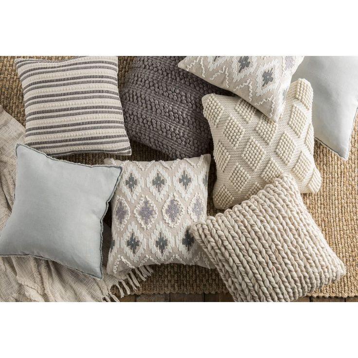 Eider Ivory Bowman Throw Pillow Reviews Wayfair Throw Pillows Living Room Living Room Pillows Couch Throw Pillows