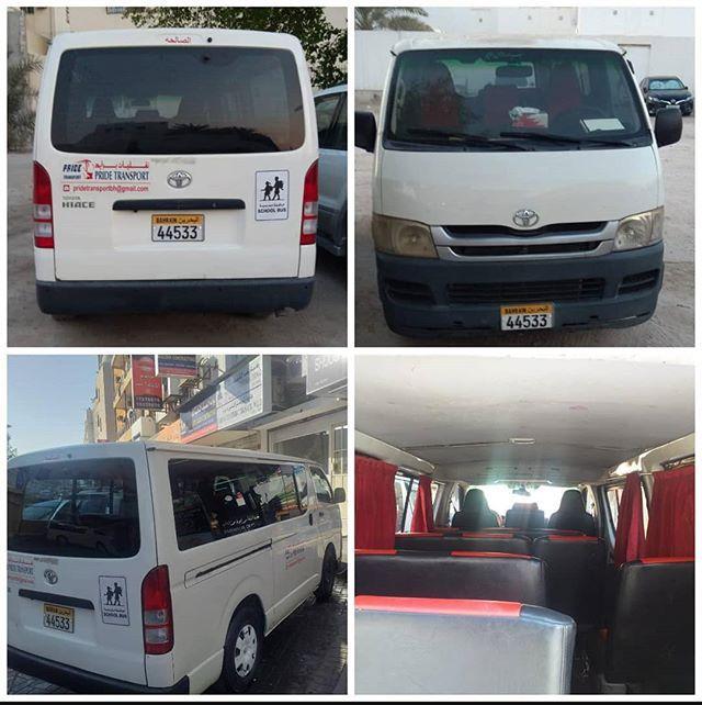 للبيع باص راكب في حالة ممتازة تم تغيير معظم القطع المستهلكة مكينه ايسي قير موديل السعر دينار بحريني قابل بالمعقول للاستفسار Transportation Van Car