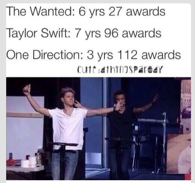 And now 6 years , 242 awards ❤ whatcha gotta say loves