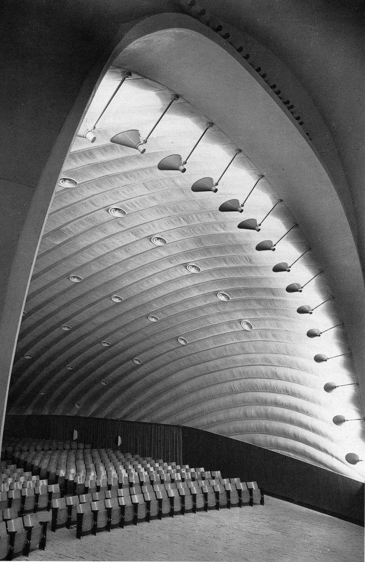 Cinema Airone / Adalberto Libera, Leo Calini, Eugenio Montuori /  Roma, Italia, 1953-1956