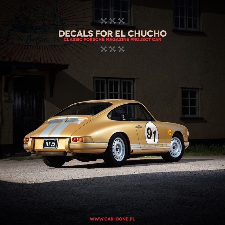 We are glad you trust our visions. The El Chucho. Classic Porsche Magazine's project car with our Car Bone decals.  #porscheclassic #carboneliveries #flatsixdesign #porsche #911 #porsche911 #elchucho #classicporschemagazine #classicporsche #carwrap #carrera #flatsix #aircooled #early911 #911s #911st #930 #356 #fuchs