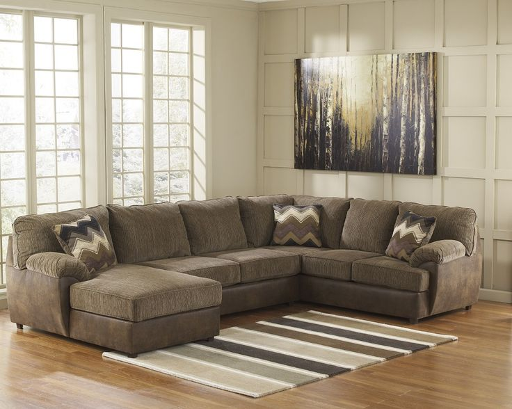Sofa sectionals with chaise sofa chaise sectional for Ashley beige sofa chaise