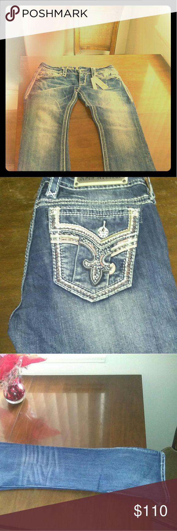 Rock revival Woman's jeans Brand new with tags size 31 these are called coe Rock Revival Jeans