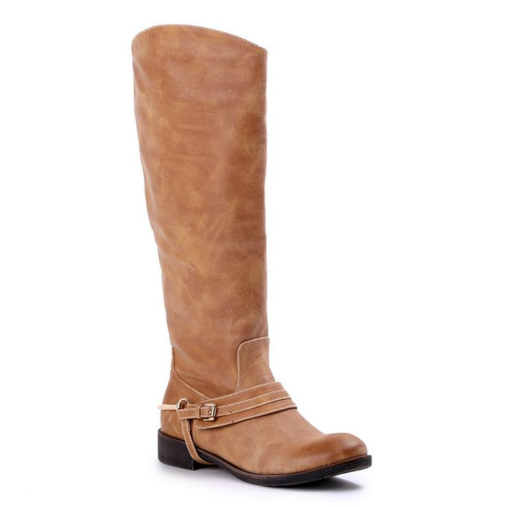 Autumn/Winter 2014 | FULLAHSUGAH BUCKLE SPUR RIDING BOOTS | €64.90 | 4450100515 | http://fullahsugah.gr