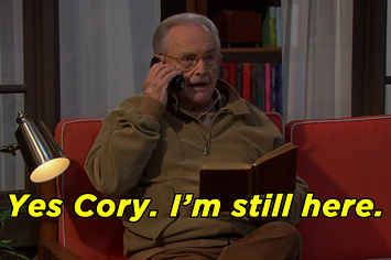 "Here's Mr. Feeny's Return In The Season 2 Premiere Of ""Girl Meets World"""