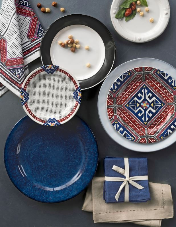 Transform a gathering into something deliciously unexpected! Add a layer from our new Tangier collection to your table for an eclectic look that conjures up romantic, faraway places where it is summer forever & there are adventures yet to be had.
