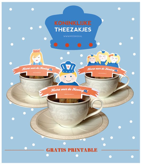 Koninklijke theezakjes