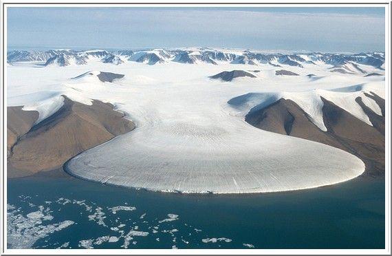 Inlandsis- Groenlandia