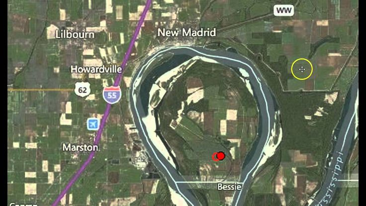 """Earthquake Strikes In the """"Key Hole"""" of New Madrid Fault In Kentucky - Published on Apr 16, 2015 - This most recent earthquake is not significant in magnitude, but it is in depth and location!"""