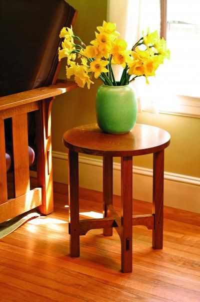 Free Download Plans For An Arts And Crafts Side Table