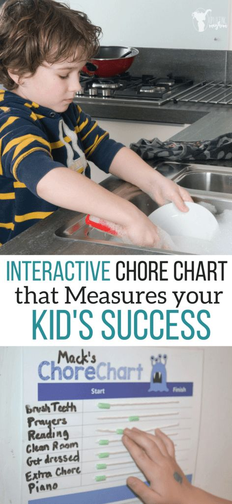 Interactive Chore Charts to Measure your Kids Success