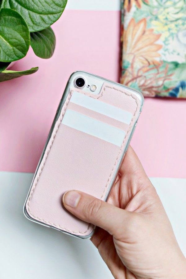 21 Easy Creative Diy Phone Cases To Jazz Up Your Phone Diy Phone Case Card Holder Phone Case Cell Phone Card Holder