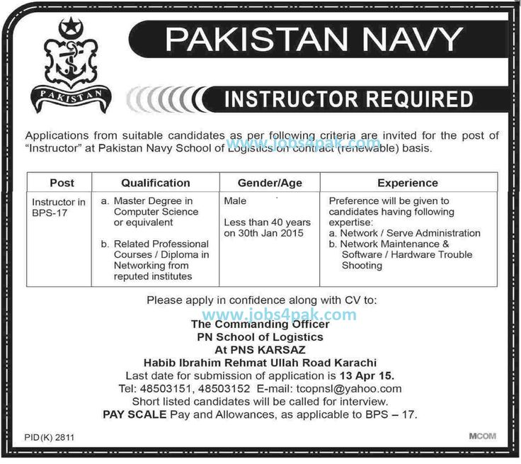 Female TeachersJunior SchoolMAMSc Jobs In Fazaia Inter