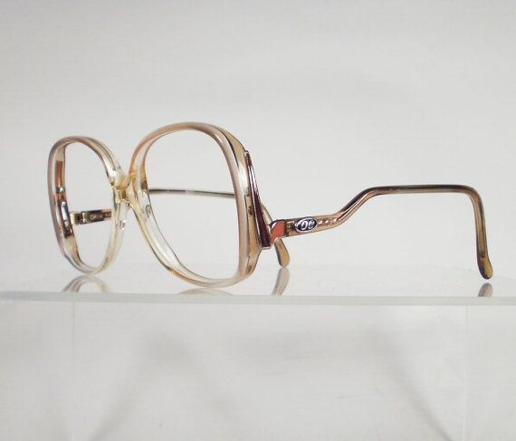 OLEG CASSINI Light Brown Oversized Eyeglass Frames – I can see clearly now – #Br… – Brillen Modelle