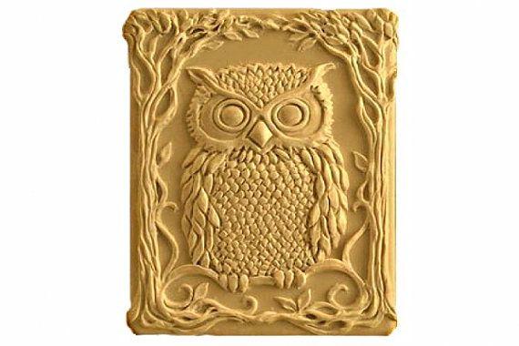 Owl Soap - Organic Soaps -  Glycerin Soap - Natural Soap - Moisturizing Soap  - Decorative Soaps - Fragrance Oil Honey Almond