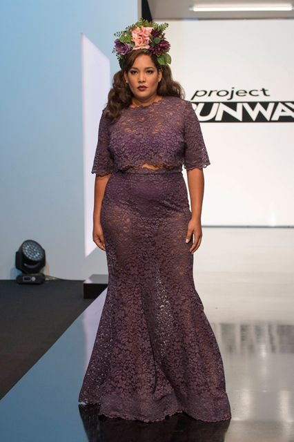 Project Runway Winner Ashley Nell Tipon | Project Runway just crowned a new winner and we're so excited. She designed a collection that has sizes for all and we interviewed her on her win. #refinery29 http://www.refinery29.com/project-runway-plus-size-winner-ashley-tipton