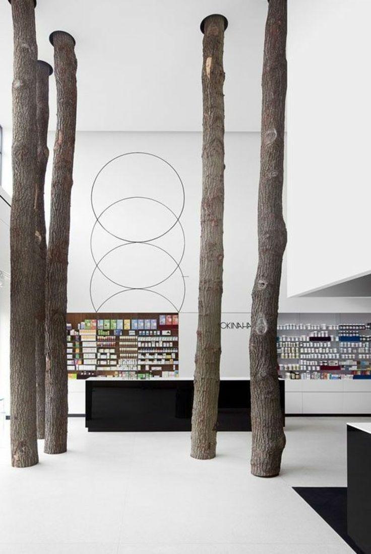 Bäume im Office!!! Okinaha shop / Coast agency + As-Built Architects / Follow my INTERIORS board!