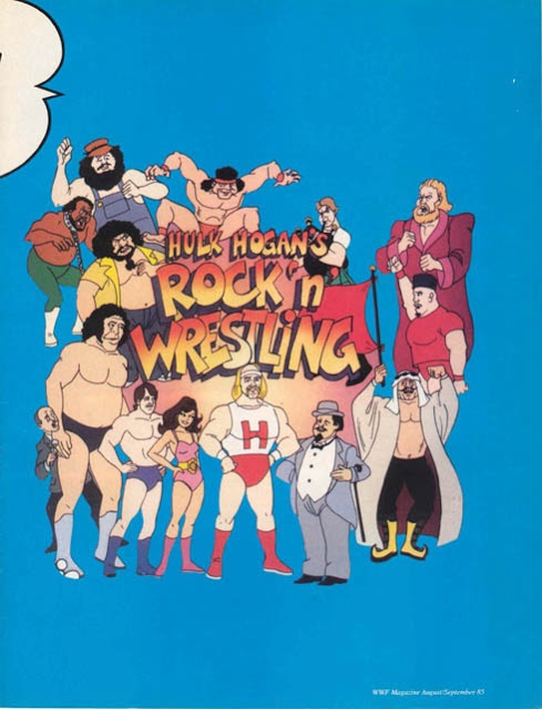 Hulk hogan s rock n wrestling cartoons pinterest
