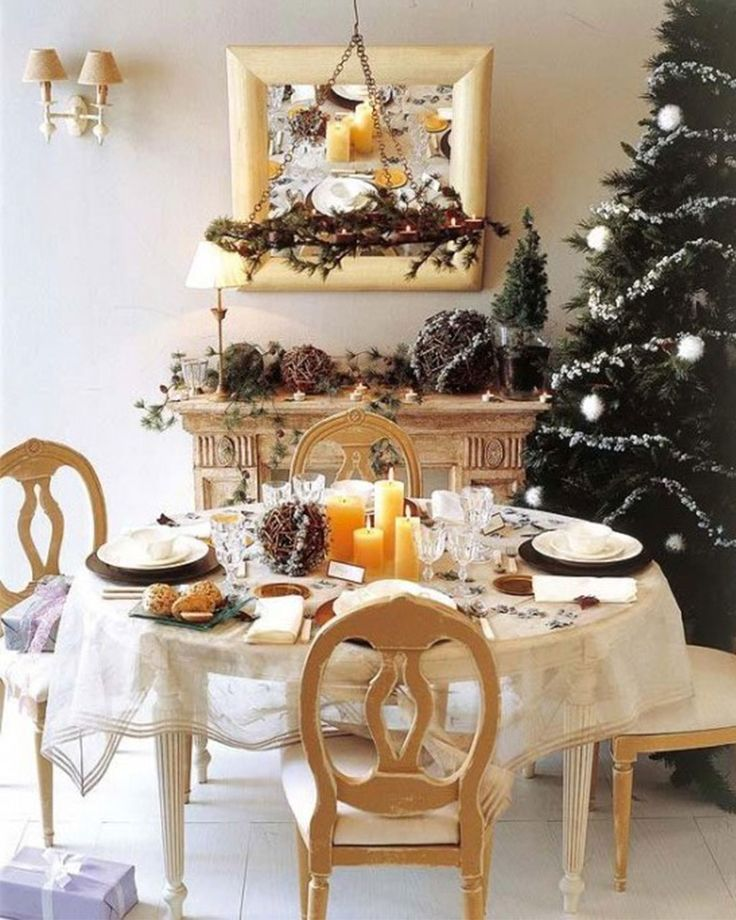 Special Decoration Ideas For Christmas Tables