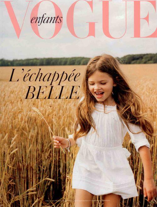 Dreamy.  #vogue #vogueenfants #kids #fashion
