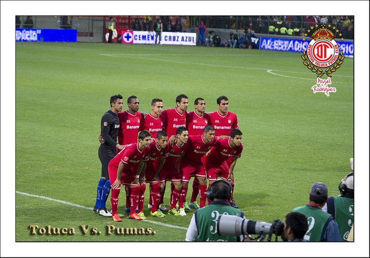 Jornada tres Toluca  vs. Pumas...