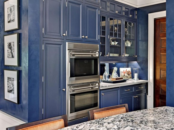 Painting Your Kitchen Cabinets Is No Small Undertaking: 17 Best Images About Dark Blue Kitchen On Pinterest