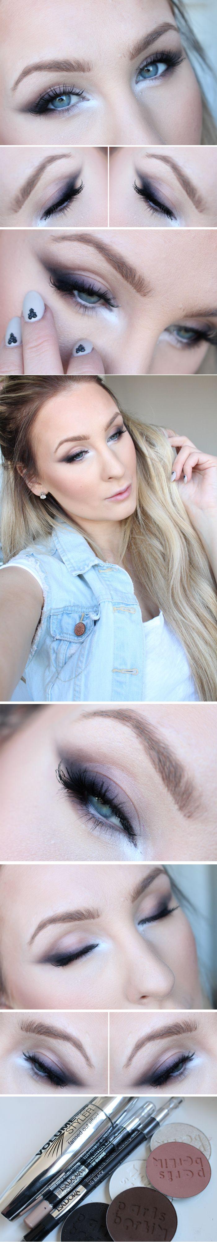 Helen Torsgården | Dagens ögonmakeup + tips - Sotad eyeliner