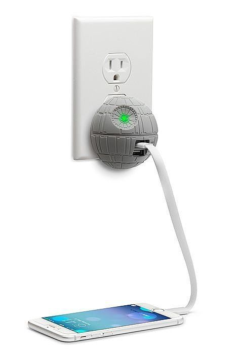 Death Star USB Wall Charger ($30)