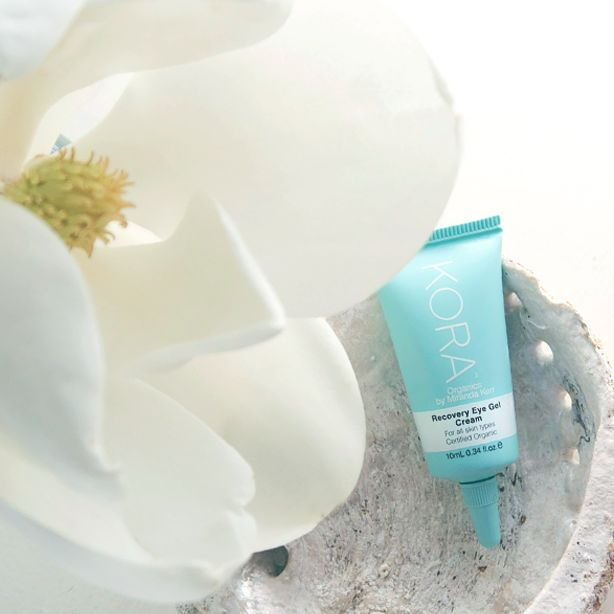 Our Recovery Eye Gel Cream helps boost collagen production with a high concentration of Organic Seaweed. It also protects and rejuvenates the delicate eye area while soothing puffy eyes. Check it out here http://www.koraorganics.com/us/recovery-eye-gel-cream.html xxx KORA Organics #eyegel #koraorganics