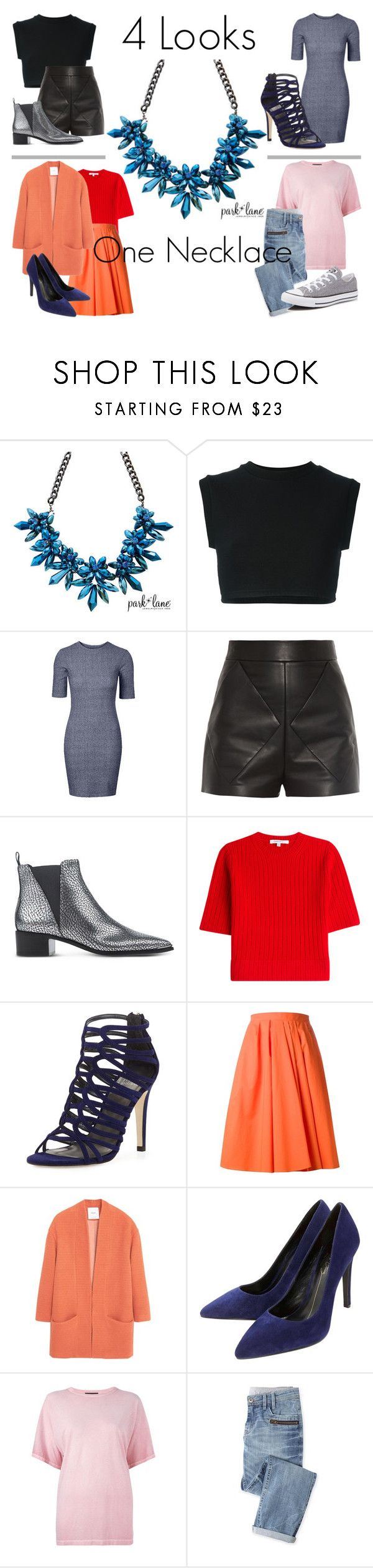 """What Is Your Style?"" by parklanejewelry on Polyvore featuring adidas Originals, Balenciaga, Acne Studios, Carven, Stuart Weitzman, MANGO, Lola Cruz, Diesel Black Gold, Wrap and Converse"
