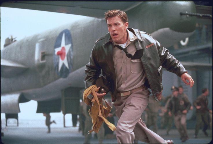 """Pearl Harbor"" movie still, 2001.  Ben Affleck as Capt. Rafe McCawley."