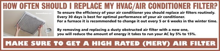 How Often Should You Change Out Your AC Air Filter?