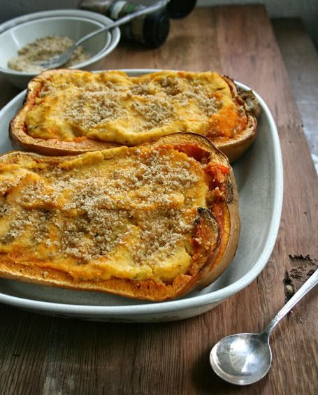 Thanksgiving Side: Twice-Baked Squash Recipe. The perfect side to accompany your Thanksgiving dinner. Easy, delicious, and a nutritious accompaniment.