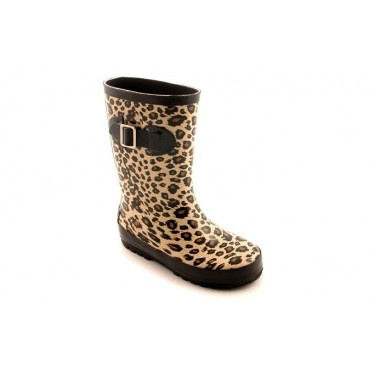 Corky's Baby Doll Rain Boots for Kids - Cheetah