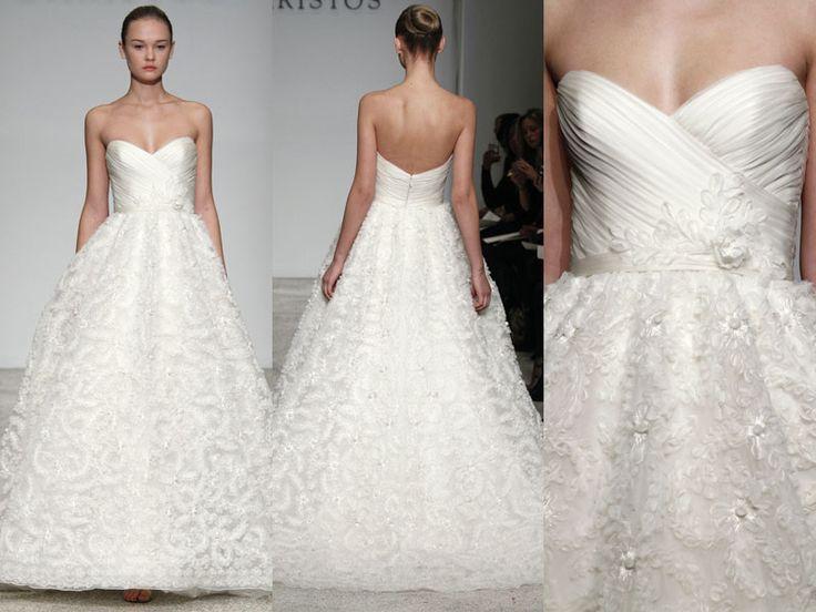 Tresor - Vestido de noiva - Christos Bridal