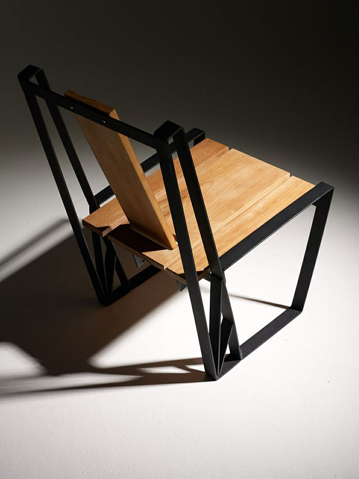 Theros wood Chair by Danai Gavrili
