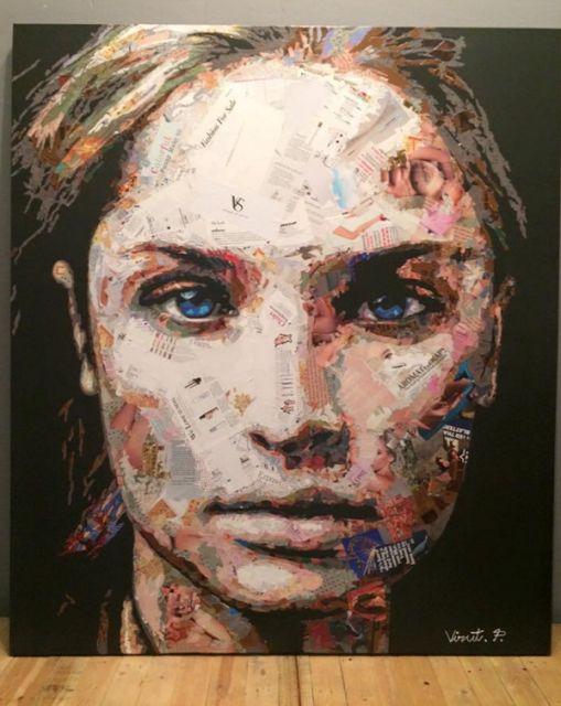 EL MUNDO DEL RECICLAJE: Virut Panchabuse hace arte con papel reciclado