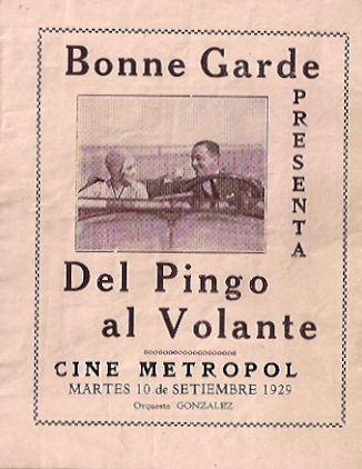 DEL PINGO AL VOLANTE