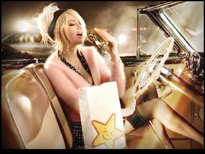 Carl's Jr., la cadena de comida rápida, estrenará un nuevo comercial donde la atracción principal será Kate Upton comiéndose una fabulosa hamburguesa.  La cadena está apostando por unir la sensualidad de esta modelo de 19 años con un alimento que juramos ella nunca consumiría, como una deliciosa hamburguesa de cientos de calorías.