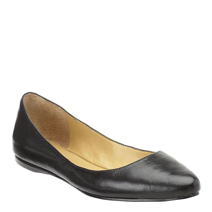 Speakup Pointed Toe Flats - the best black flats ever