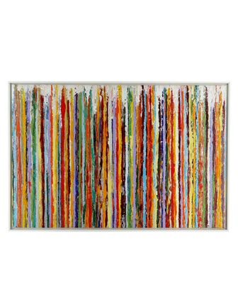 """""""Delineation"""" Painting - Neiman Marcus"""