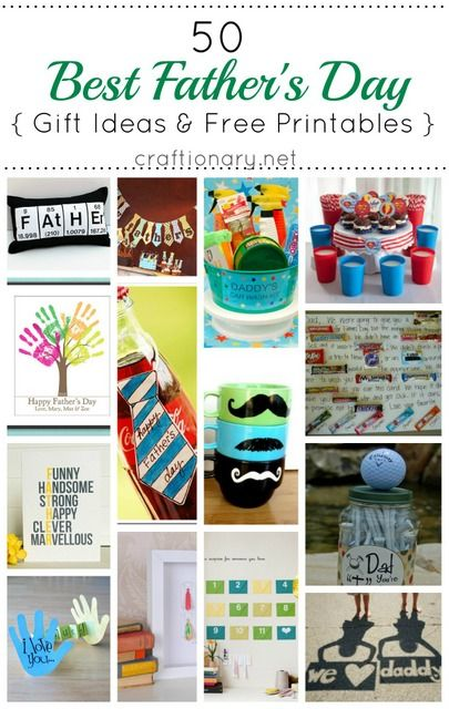 50 best fathers day gift ideas and printables
